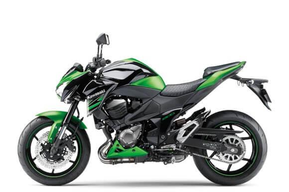 Kawasaki-Z800 สีเขียว