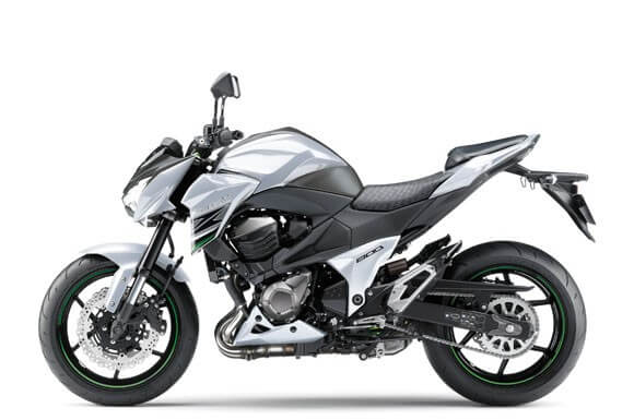 Kawasaki-Z800 สีเทา