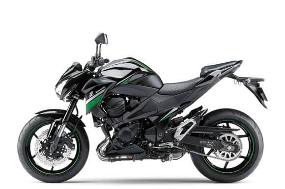 Kawasaki-Z800 สีดำ