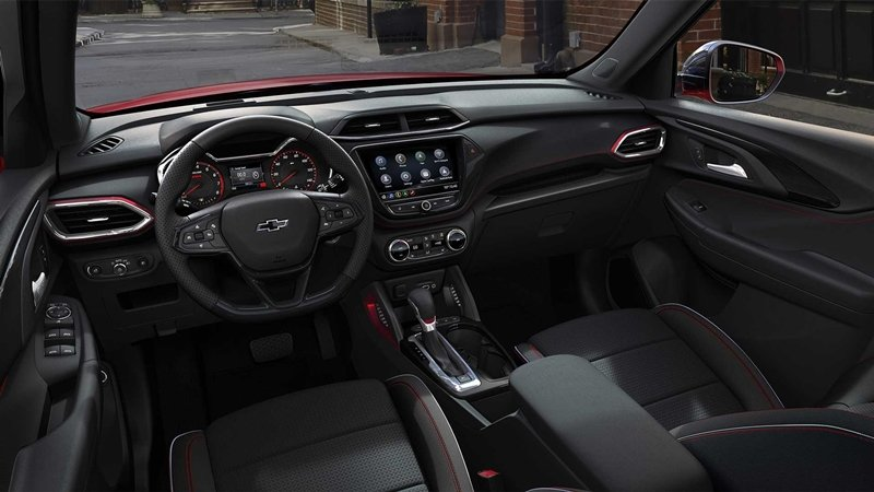 ภายใน Chevrolet Trailblazer 2020