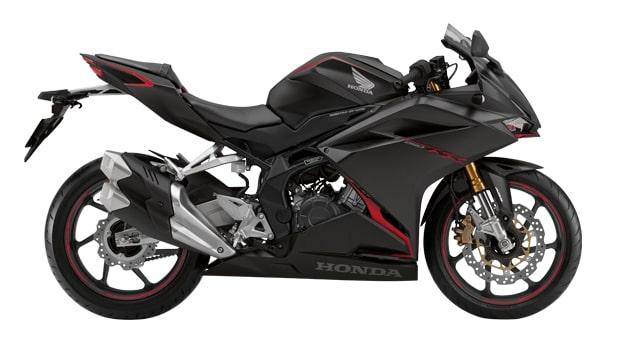 Honda CBR250RR สีดำ MAT SENSEI BLACK MEALIC