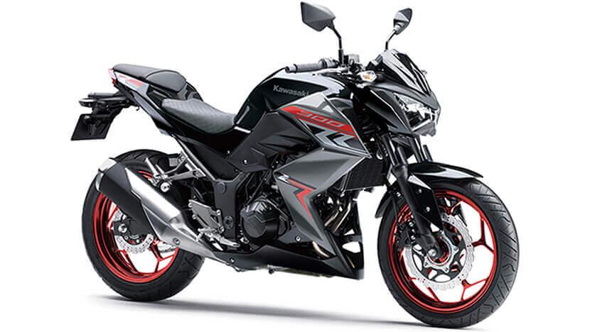 Kawasaki Z300 สีดำ
