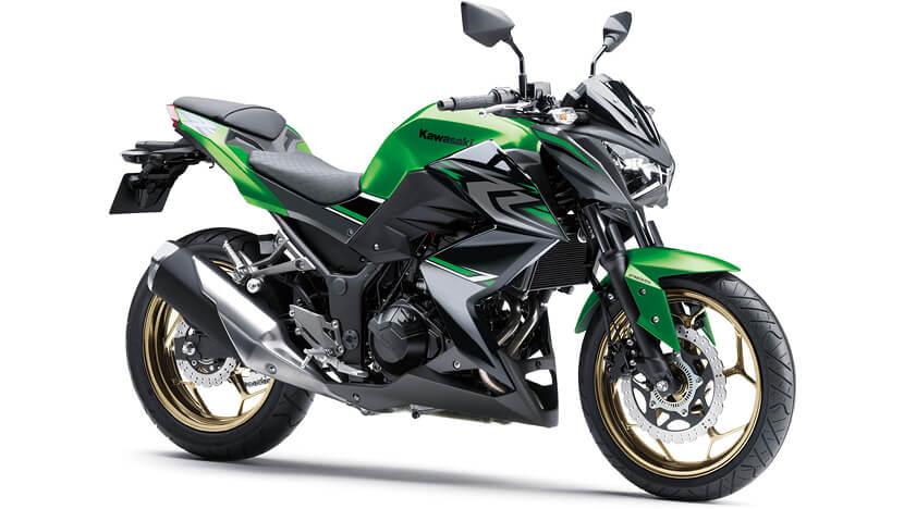 Kawasaki Z300 สีเขียว