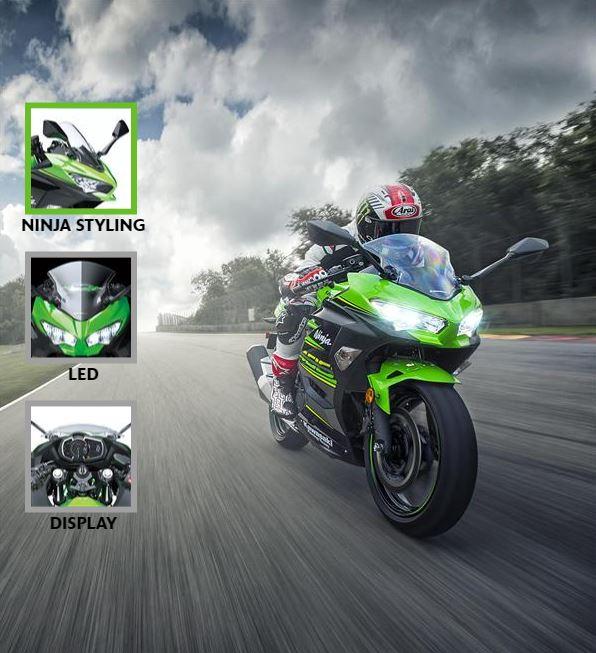 Ninja 400 feature