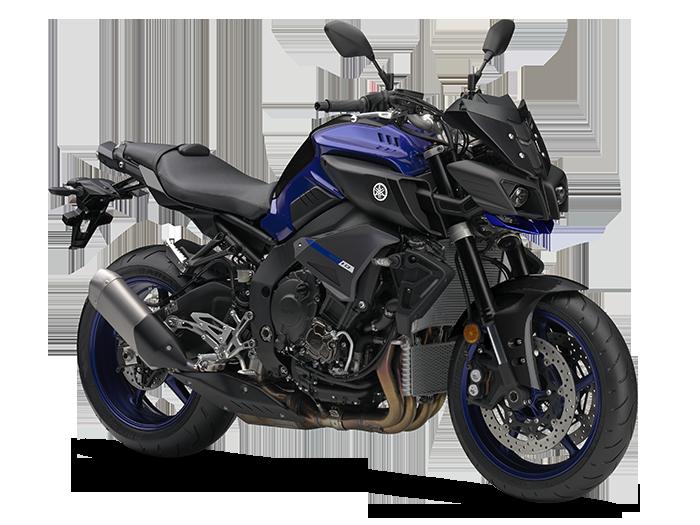 Yamaha MT-10 สีน้ำเงิน
