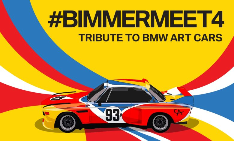 BIMMERMEET4 Tribute To BMW Art Cars