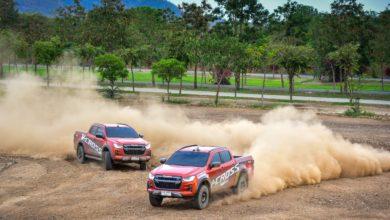 Photo of Isuzu Suphan Sport จัดเต็ม จัดหนัก ทดสอบ All New Isuzu V-Cross ในสนาม Grand Prix Motor Park