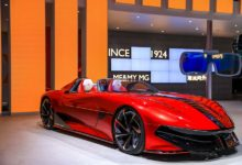 "Photo of เอ็มจี เปิดตัวรถต้นแบบแห่งโลกอนาคต  ""MG Cyberster"" ในงาน Shanghai Auto Show 2021"